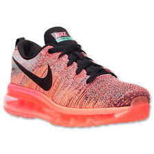Nike Women's Flyknit Max Running Shoes Hyper Punch/Black  620659-601 **