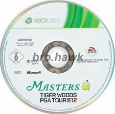 Masters Tiger Woods PGA Tour 12 (Xbox 360) - PAL-DISCS nur