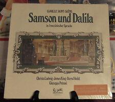 SAMSON UND DALILA CAMILLE SAINT-SAENS  LP ALBUM