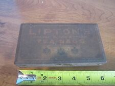 VINTAGE LIPTON ORANGE PEKOE ADVERTISING TIN