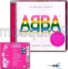 """ABBA """"LA NOSTRA STORIA"""" RARE CD FOR ITALIAN MARKET - SEALED"""