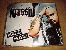 MASSIV - Weißt Du Wie Es Ist  (Maxi-CD)