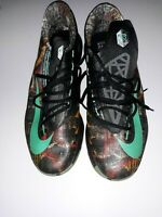 KD 6 NOLA Gumbo Nike Basketball Shoes Mens Size 14 Glow In The Dark