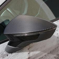D044 Außenspiegel Dekor 3M 1080 Folie Carbon für Seat Leon 5F Cupra ST FR SC