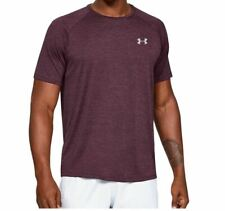 Under Armour Men's Tech Short Sleeve Tee Kinetic Purple Size L New with tag