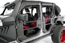 Fab Fours JK1030-1, JK1031-1 (IN STOCK) 4-Pc. Full Tube Doors 07-18 Jeep JK