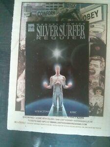 Silver Surfer Requiem Hardcover Graphic Novel