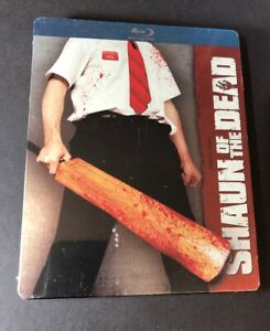 Shaun of the Dead [ Limited Edition STEELBOOK ] (Blu-ray Disc) NEW