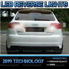 PREMIUM AUDI A3 8P White LED XENON Reverse Light Bulbs Upgrade