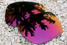 Polarized Plum Purple Mirrored Replacement Sunglass Lenses for Oakley Holbrook