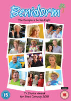 Benidorm: The Complete Series 8 DVD (2016) Jake Canuso cert 15 2 discs