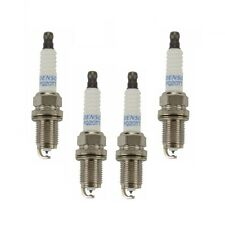 Spark Plugs Set of 4 Denso fits VW Mercedes Mazda Acura Honda Volvo Gap 0.040