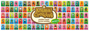 ANIMAL CROSSING SERIES 2 AMIIBO CARDS - ALL CARDS 101 > 200 NINTENDO 3DS & WII U