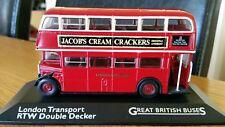 1:76 Corgi London Transport RTW Double Decker Bus No22 Chelsea Perfect on Plinth