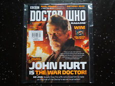 DOCTOR WHO MAGAZINE #496 - JOHN HURT