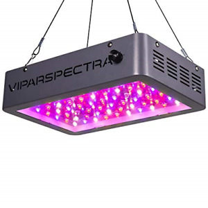 Plant Grow Light, VIPARSPECTRA Newest Dimmable 600W LED Grow Light, with Daisy