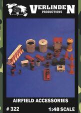 Verlinden 1:48 Airfield Accessories Resin Diorama Accessories #322