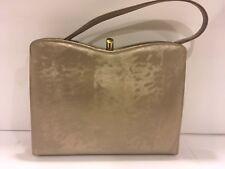 Vintage 1950s Melbourne Hand Bag Beige/Gold