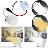 1W 86-265V LED Ceiling Light Cabinet Recessed Down Lamp Bulb