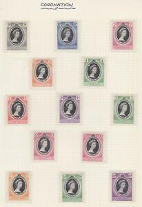 Stamps of Coronation Omnibus