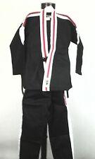 NEW BUSHIDO Kids KIMONO KARATE Jacket/Pants JIU-JITSU TAE KWON DO Uniform 00/130
