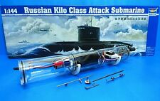 1/144 Russian Sub Class Kilo + RTR WTC Full Set ( Air Pump Stsyem ) + 4ch Radio