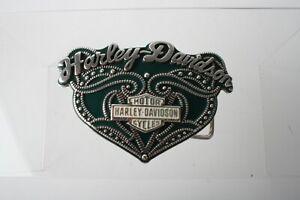 Ladies Harley Davidson belt buckle 2007