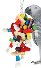 1354 Large Jumble Chew Bonka Bird Toy parrot cage toy cages african grey conure