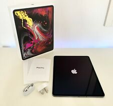"Apple iPad Pro 3rd Gen 12.9"" 256GB Space Grey WiFi + Cellular 4G Unlocked Boxed"