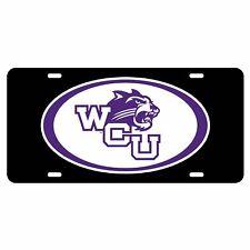Western Carolina Tag (Blk/Ref Oval Wcu Cat Tag (20210)