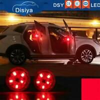 2PCS LED Car Door Opening Warning Light Safety Flash Signal Lamp Anti-Collision.