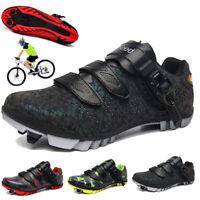 Professional Cycling Shoes MTB Mountain Bike Sneakers SPD Cleats Men Racing Road