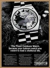 1973 Tissot PR 516 GL Outdoors watch photo vintage print ad