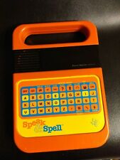 Texas Instruments Speak & Spell Talking Toy Electronic Learning Aid 1978