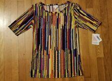 Lularoe Gigi top, NWT, multicolored stripes, Size Small
