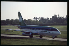 Orig 35mm airline slide Aer Lingus 737-200 EI-ASE [212-1]