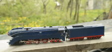 Brass HO USSR Locomotive 2-3-2V in dark blue livery