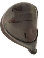 KZG SP700 Titanium 9* Golf Club Driver Head **CLUB HEAD ONLY** - NEW