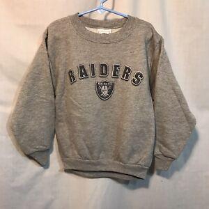 Oakland Las Vegas Raiders Pullover Sweatshirt NFL Brand Youth 6/7 Kids Small New