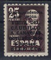 D136562/ SPAIN - AIRMAIL / Y&T # 246 MINT MH CERTIFICATE CV 465 $