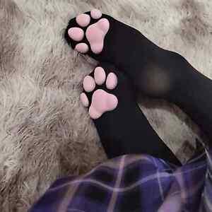 Cat Socks Toe Bean Jelly Over Knee Costume Cosplay