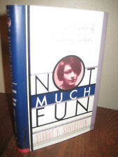 1st Edition Not Much Fun Dorothy Parker Last Poems First Printing Poetry Classic