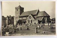 Parish Church - Seaford - Real Photo Postcard