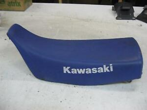 1. Kawasaki KLR 250 D Kl Banquette Coussin de Siège Seat