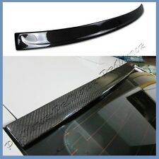 2011-16 BMW F10 Carbon Fiber 3D Look ROOF Spoiler Lip Fit 528i 535i 550i M5 4Dr