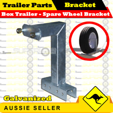 Spare Wheel Bracket Carrier for Boat Box Trailers Suits 50mm Trailer Draw Bar L