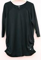 M & S, excellent condition, long black tunic top, size large.