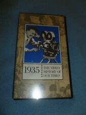 1935 VHS Tape Documentary The Video History Of Our Times Easton Press Universal