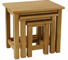 Wood Veneer Fixed Nested Tables