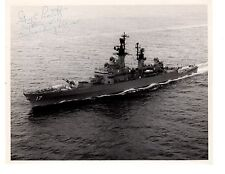 USS Harry Yarnell DLG-17 CG-17  Destroyer Navy Ship Official 8x10